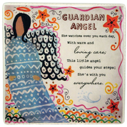 Guardian Angel Ceramic Tile   -