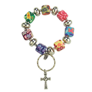 Key Ring, Cross  -