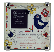 Our Grandchildren Charm Photo Frame  -
