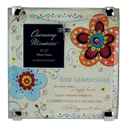 Our Grandchild Charm Photo Frame  -