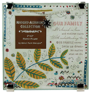 Our Family Charm Photo Frame  -