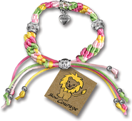 Show Courage, Express Yourself Cord Bracelet  -