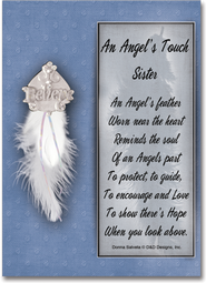 An Angel's Touch Pin, Sister  -