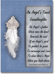 An Angel's Touch Pin, Granddaughter  -