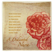 A Dedicated Nurse Ceramic Tile  -