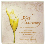 50th Anniversary Ceramic Tile  -