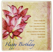 Birthday Ceramic Tile  -
