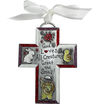 God Loves All Creatures Kid's Cross  -
