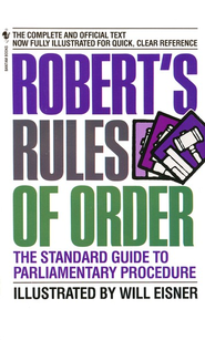 Robert's Rules of Order   -     By: William Eisner
