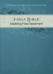 CEB Common English Bible New Testament Wedding Edition SoftTouch White - Slightly Imperfect  -