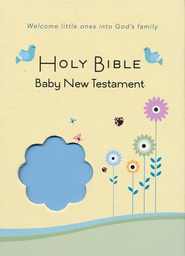 CEB Common English Bible New Testament Baby Edition SoftTouch Blue  -
