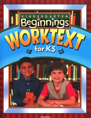 BJU K5 Beginning Student Worktext, Third Edition   -