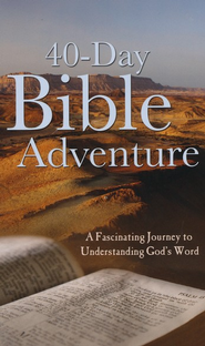 40-Day Bible Adventure  -     By: Christopher Hudson