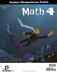 BJU Math Grade 4 Student Materials Pack (Third Edition)    -