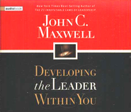 Developing the Leader Within You - Audiobook on CD             -     By: John C. Maxwell