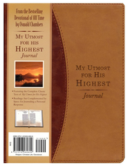 My Utmost for His Highest Daily Devotional Journal - Slightly Imperfect  -