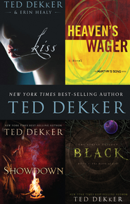 Dekker 4-in-1 Bundle: Black, Showdown, Heaven's Wager & Kiss - eBook  -     By: Ted Dekker