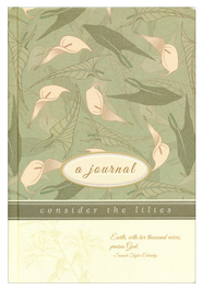 Consider the Lilies Journal   -