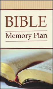 Bible Memory Plan: 52 Verses You Should -and CAN-Know - Slightly Imperfect  -