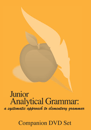 Junior Analytical Grammar Companion DVD   -              By: R. Robin Finley, Erin Karl