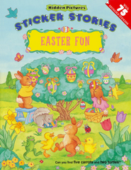 Hidden Pictures Easter Fun, Sticker Stories   -     By: Anna Pomaska