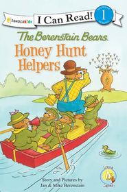 The Berenstain Bears: Honey Hunt Helpers - eBook  -     By: Jan Berenstain, Mike Berenstain