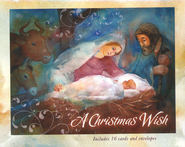 A Christmas Wish: Boxed Christmas Cards  -