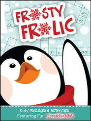 Frosty Frolic: Kids' Puzzles & Activities Featuring Fun Scratch-Offs!  -