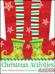 Christmas Activities: Kids' Puzzles & Games Featuring Fun Scratch-Offs!  -