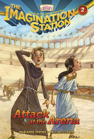 Adventures in Odyssey The Imagination Station® Series #2: Attack at the Arena eBook  -     By: Marianne Hering, Paul McCusker