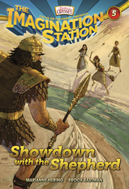 Adventures in Odyssey The Imagination Station® Series #5: Showdown with the Shepherd eBook  -     By: Marianne Hering, Brock Eastman