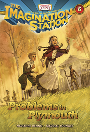 Adventures in Odyssey The Imagination Station® Series #6: Problems in Plymouth eBook  -     By: Marsahal Younger, Marianne Hering
