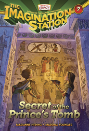 Adventures in Odyssey The Imagination Station® Series #7: Secret of the Prince's Tomb eBook  -     By: Marianne Hering, Marshall Younger