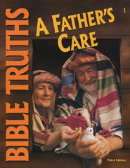 BJU Bibe Truths Grade 1: A Father's Care, Student Worktext  (Updated Copyright)  -