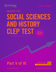 Master the Social Sciences and History CLEP Test: Part V of VI - eBook  -     By: Peterson's