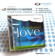 Unashamed Love, CD-ROM Digital Songbook (Worship Leader Assistant)   -     By: Travis Cottrell