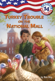 Capital Mysteries #14: Turkey Trouble on the National Mall - eBook  -     By: Ronald Roy     Illustrated By: Timothy Bush
