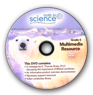 Truth in Science Grade 6 Multimedia/Support DVD   -