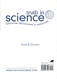 Truth in Science Grade 3 Tests & Quizzes   -