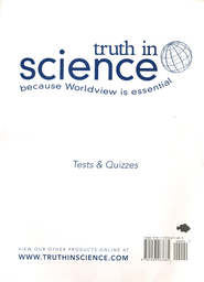Truth in Science Grade 4 Tests & Quizzes   -