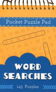 Pocket Puzzle Pad: Word Searches  -