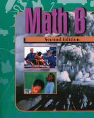 BJU Math 6 Student Text (Second Edition)    -