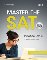 Master the SAT: Practice Test 3: Prac Tes 3 of 6 - eBook  -     By: Peterson's