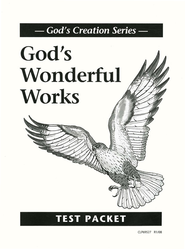 God's Wonderful Works Test Booklet  Christian Liberty Press  -     By: Homeschool