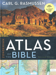 Zondervan Atlas of the Bible  - Slightly Imperfect  -