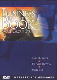 Business by the Book Small Group Study- Marketplace Message DVD  -              By: Larry Burkett