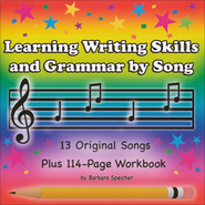 Learning Writing Skills and Grammar by Song Audio & PDF CD-ROM   -              By: Barbara Speicher