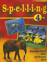 BJU Spelling 4, Student Worktext (Updated Copyright)    -