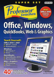 Professor Teaches Office Super Set CD-Rom   -