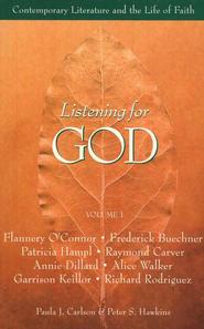 Listening for God: Contemporary Literature and the Life of Faith, Volume 1 - Slightly Imperfect  -